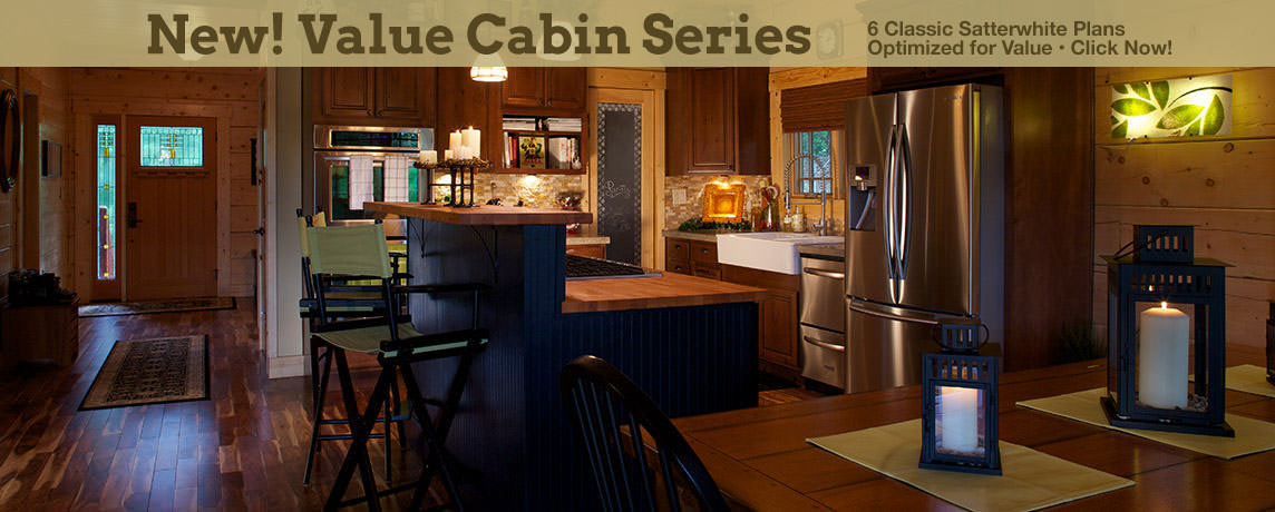 Satterwhite Log Homes - Cabins, Kits, Supplies - Thousands