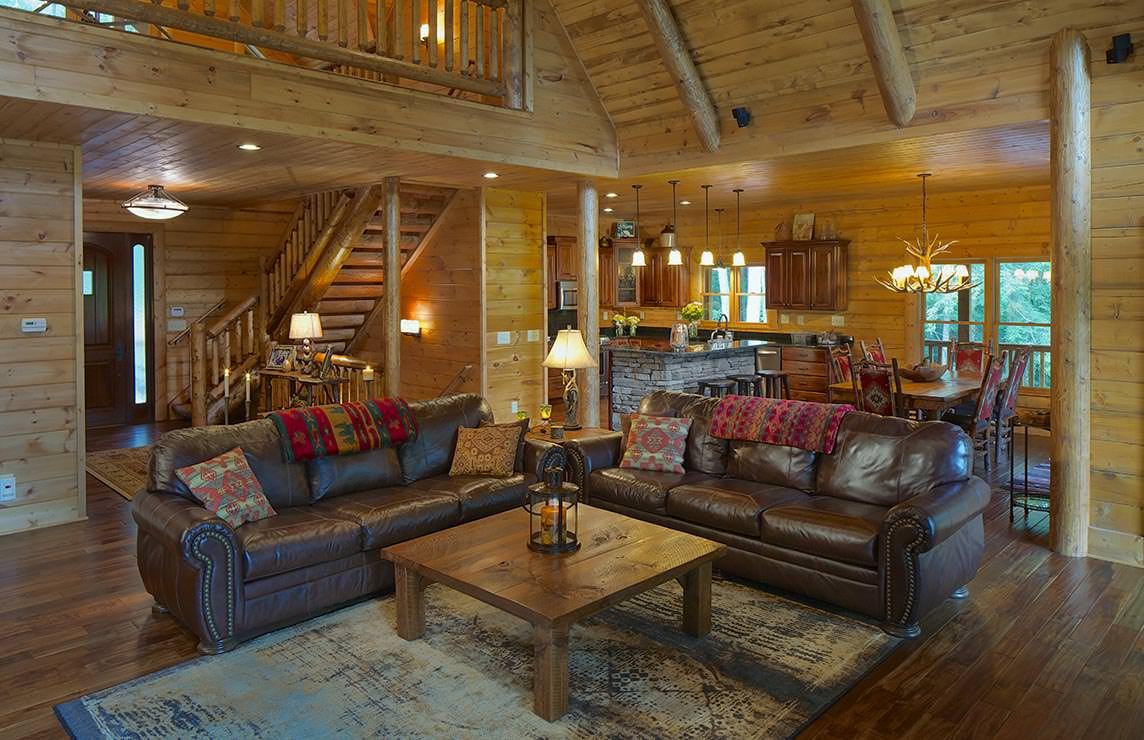 Satterwhite Log Homes Misty Ridge Floor Plan